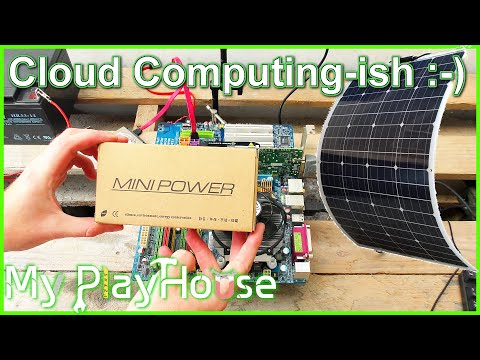 Solar Powered PC, Maybe For Cryptocurrency Mining - 868