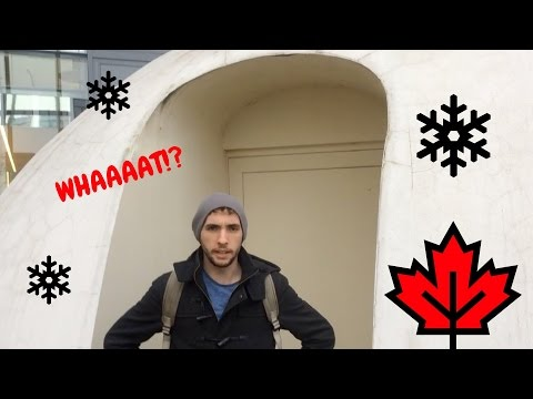 CANADIAN IGLOOS IN FRANCE