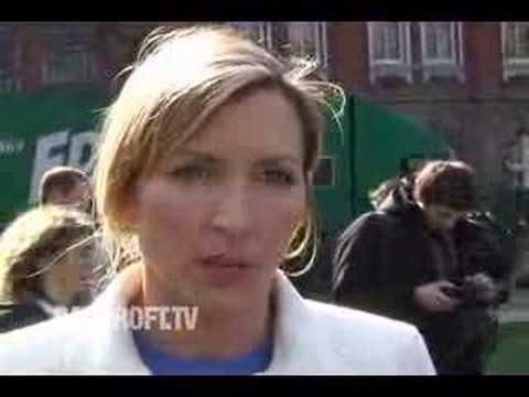 Heather Mills in Millbank