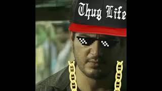 thala ajith thug life / thug life / thala WhatsApp status # thala