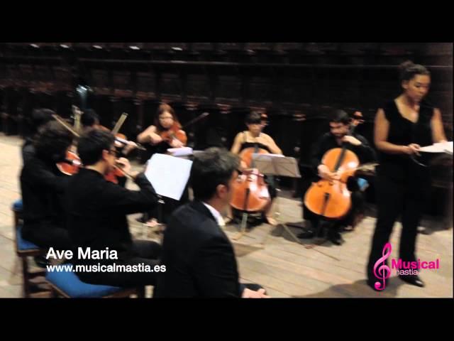 Catedral Sigüenza - BODA MADRID TOLEDO GUADALAJARA Ave maria soprano