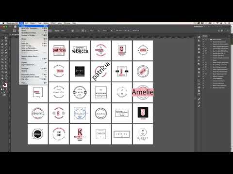 DIY Logo Design using a Creative Market Template