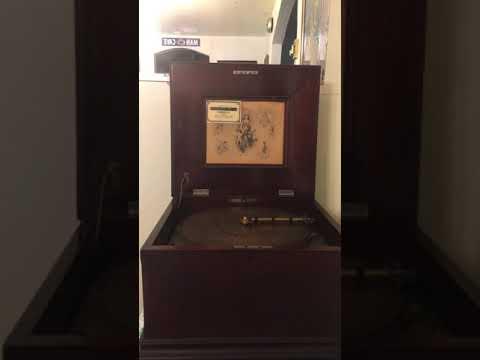 Blue Bell March Song - Regina Music Box