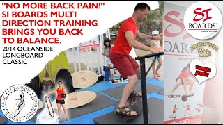 Stop Your Back Pain with Si Boards Balance Training and Multi-Direction Movement