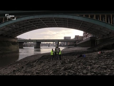 What lies beneath the River Thames?