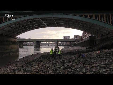 What lies beneath the River Thames?