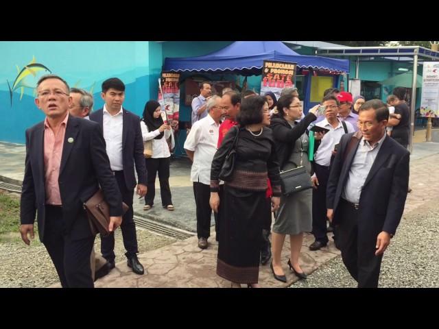 Lawatan Menteri Cambodia ke #myDOF Valley #MAHA2016my