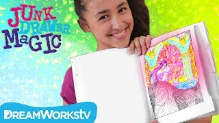 Magic Coloring Book | JUNK DRAWER MAGIC