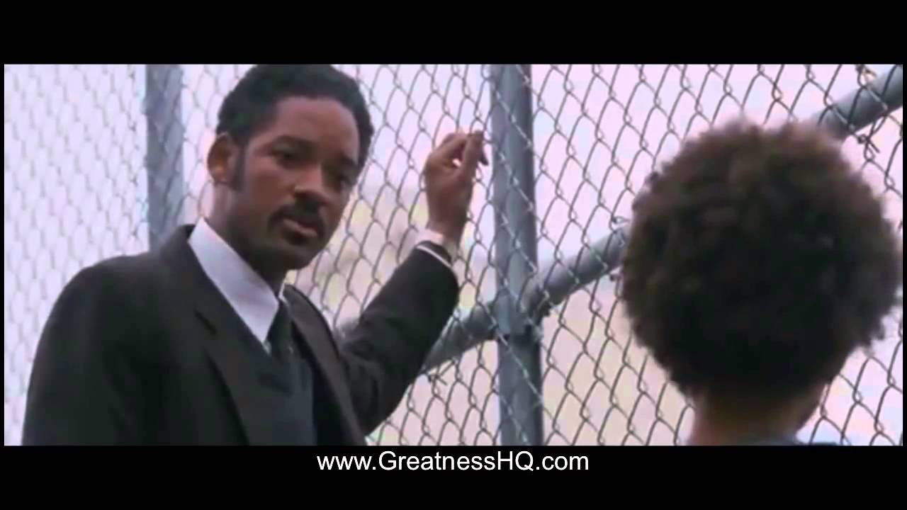 Will Smith Pursuit Of Happiness Inspirational Speech To Son Youtube