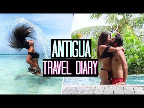 AI CARAIBI... DOPO L'URAGANO! | ANTIGUA - CARAIBI TRAVEL DIARY 2017 | Adriana Spink
