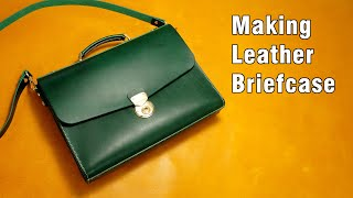 55 [Leather Craft] Making Leat…