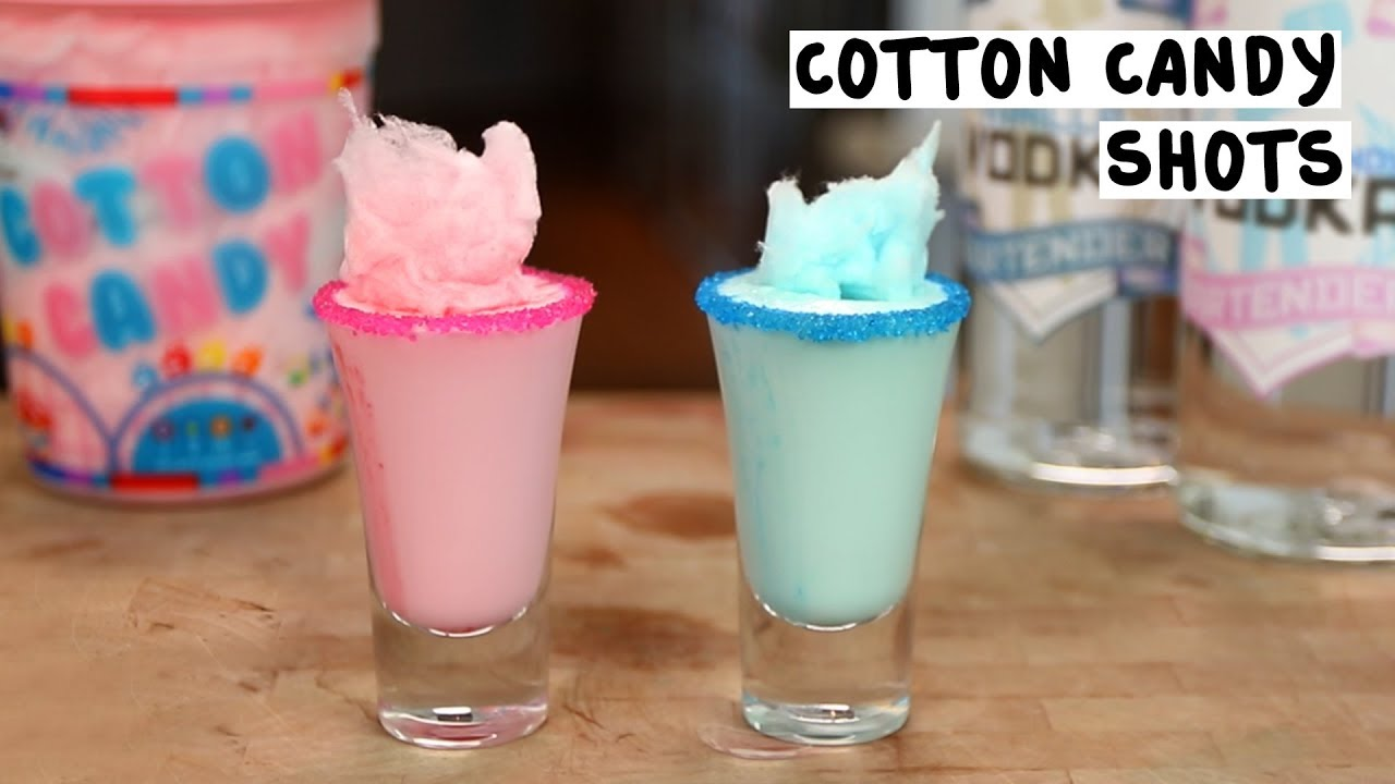 Cotton Candy Shots Youtube