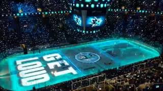 San Jose Sharks Stanley Cup Final Game 3 Pre-Game Show and Entrance