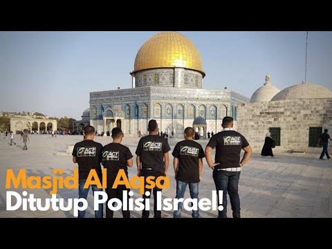 Tutup Masjid Al-Aqsa, Israel Pukul Jemaah Palestina
