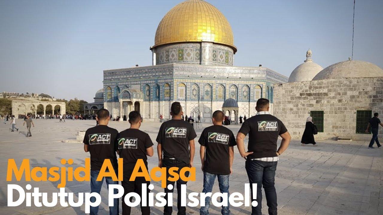 Tutup Masjid Al Aqsa Israel Pukul Jemaah Palestina Youtube