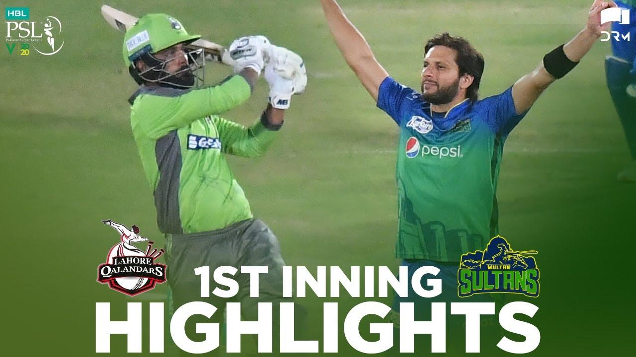 Download Lahore Qalandars vs Multan Sultans   1st Inning Highlights   HBL PSL 2020   MB2E
