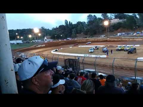 Hobby stock Placerville speedway main 6-9-18