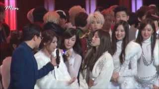 [Fancam] 131231 SNSD Girls' Generation - Interview & Ending - 2013 MBC Gayo Daejaejun HD 1080p