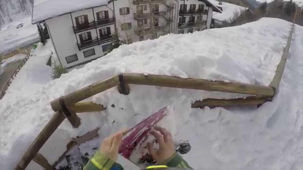 Passo san pellegrino 2015 (snowpark)