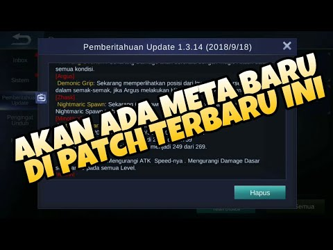 MEMBAHAS TUNTAS TENTANG UPDATE BESAR BESARAN MOBILE LEGENDS PATCH 1.3.14 - Mobile Legends