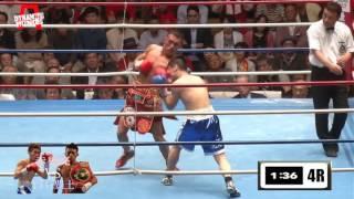 喧嘩ボクサー 赤穂亮 vs 白石豊土 Ⅱ