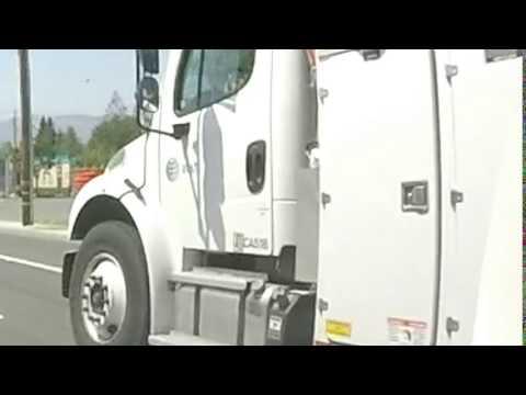 Bay Area Fail Driving Presents: AT&T Truck CA518 on De Anza Blvd