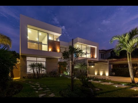 Modern House Design With Exposed Concrete Material And