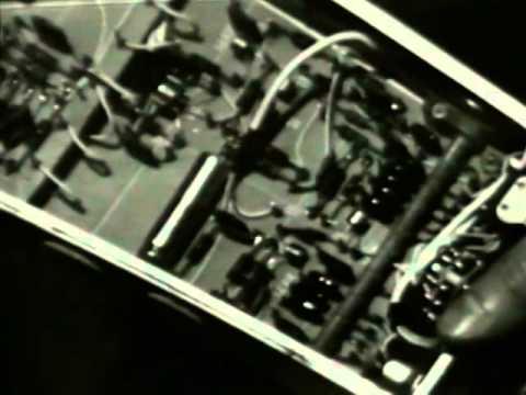 1966 RCA TR-4 2 inch Videotape Recorder Demonstration