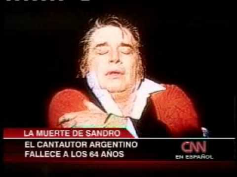 Noticentro 1/6/10 - Sepultan a Sandro de América