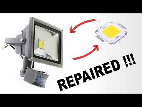 How To Repair LED Lamp - Tutorial