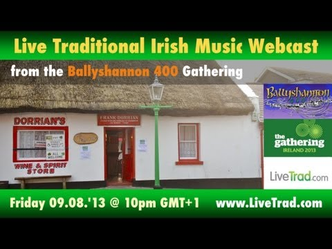 Live traditional Irish music session from Irish Thatched Bar @ Ballyshannon 400
