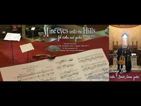 "60 secondi di ""Mine eyes unto the hills"" World Premiere, Braemar (UK) 20/08/2017"