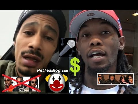 Layzie Bone Clowns Migos as Wack Rappers! Offset RESPONDS with Money Talk 💰🤡 ViDEO