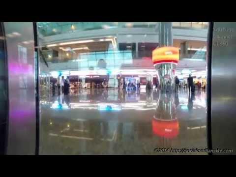 Marvelous Dubai Airport T3   Extraordinary Emirates Business Class Experience   A380-800   EK29