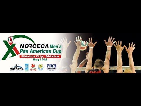 NORCECA Men's Pan American Cup, Mexico City