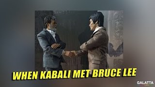 When Kabali met Bruce Lee