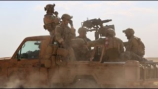 American troops flee Syrian town after threats from US-backed rebels