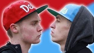 Manchester Rap Battle - Blizzard (MUFC) Vs Shotty Horroh (MCFC)