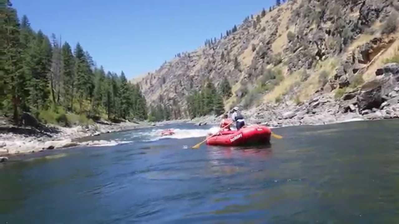 Salmon River, Idaho Rafting 2014
