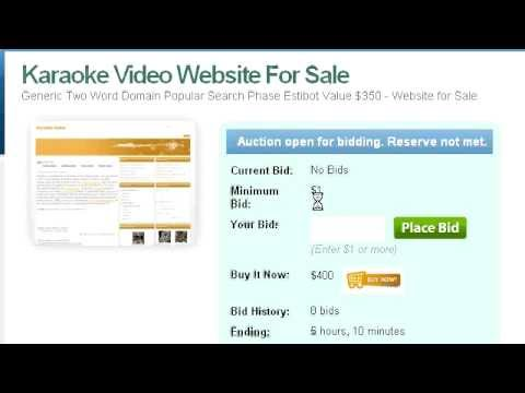 Karaoke Videos | Websites For Sale