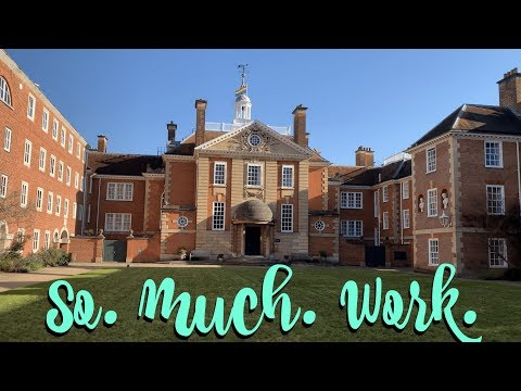 When The Workload Finally Gets Too Much.... | Oxford University Vlog