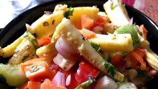 Healthy babycorn mixed salad/Nutritious & delicious babycorn salad/Easy & Quick salad recipe