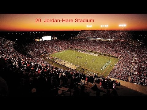 25 Loudest College Football Stadiums - Part 1