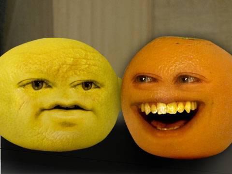 annoying orange grandpa lemon - photo #10
