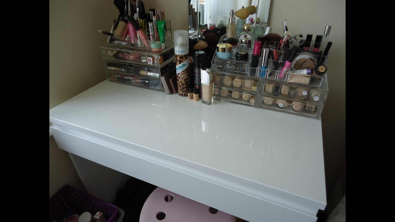 Argos Make Up Dresser Similar to Ikea Malm  YouTube