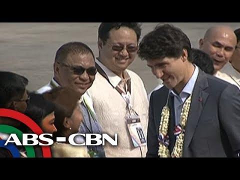 Trump nag-barong, Trudeau nag-fast food: Ilang delegado bago ang opisyal na simula ng ASEAN Summit