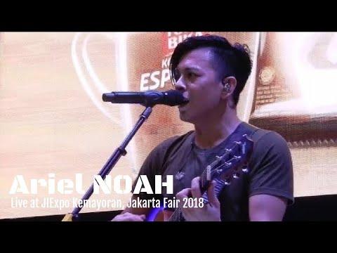 Ariel NOAH - Menghapus Jejakmu | Live at Jakarta fair 2018 - Booth Torabika