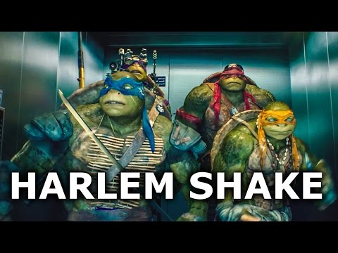 Teenage Mutant Ninja Turtles HARLEM SHAKE (HD) 2014 Movie