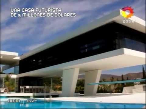 Casa futurista de grecia viajes por el mundo youtube for Casas futuristas