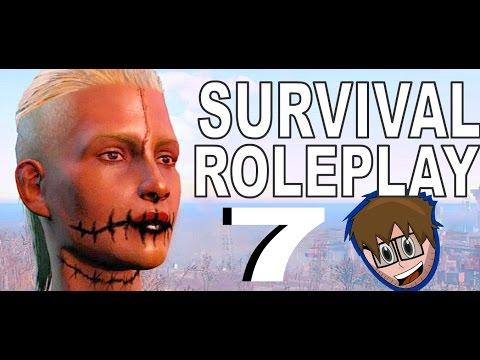 Fallout 4 Roleplay Survival: Sarcastic Raider: Commando & Demolition Build: Spray And Pray 7